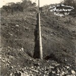 Canos da Usina na época da construção em 1949