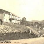 Inicio das Obras de Terraplanagem para construção do muro do Hospital