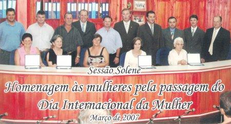 Homenagem 2007